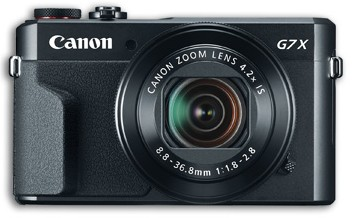 G7X Canon PowerShot Mark 2 Camera with DIGIC 7 Image Processor and Built-In Wifi - Black