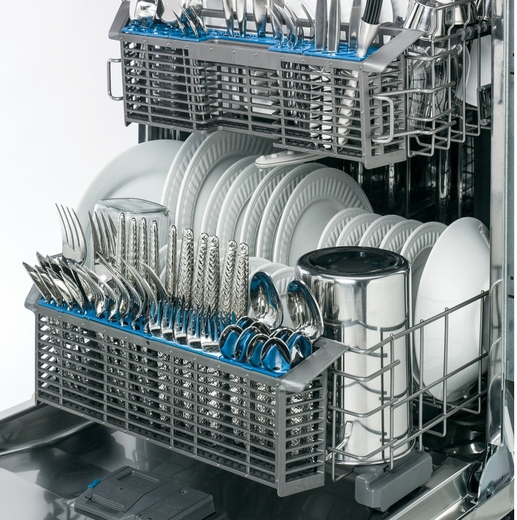 Gdf570ssfss Ge Stainless Steel Interior Dishwasher With Front Controls Stainless Steel