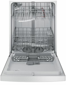 """GDF610PSJSS GE 24"""" Front Control Dishwasher with Bottle Jets - Stainless Steel"""