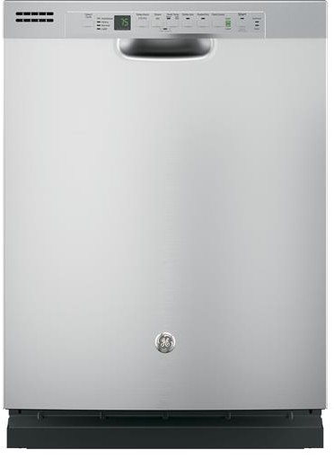 "GDF610PSJSS GE 24"" Front Control Dishwasher with Bottle Jets - Stainless Steel"