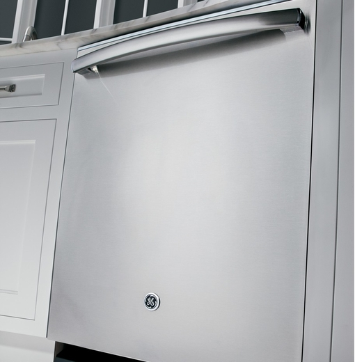 Gdt580ssfss Ge Stainless Steel Interior Dishwasher With Hidden Controls Stainless Steel
