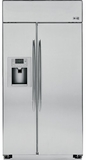 GE Built-In Side-by-Side Refrigerators