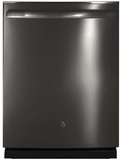 GE Dishwashers BLACK STAINLESS STEEL