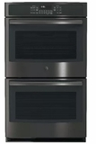 GE Double Ovens BLACK STAINLESS STEEL