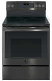 GE Electric Free-Standing Ranges - BLACK STAINLESS STEEL