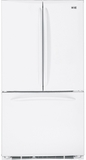 GE French Door Refrigerators - White