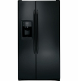 GE Side By Side - BLACK STAINLESS, BLACK SLATE, BLACK