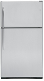 GE Top Freezers - Free Standing - STAINLESS STEEL