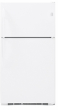 GE Top Freezers - Free Standing - WHITE