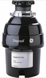 GFC720V GE 3/4 Horsepower Continuous Feed Disposer - Black