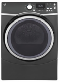 "GFD45GSPMDG GE 27"" 7.5 cu. ft. Gas Dryer with 13 Dry Cycles and 4 Temperature Settings - Gray"