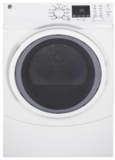 "GFD45GSSMWW GE 27"" 7.5 cu. ft. Gas Dryer with 13 Dry Cycles and 4 Temperature Settings - White"