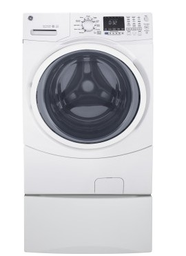 Gfw450sskww 27 Quot Ge 4 5 Cu Ft Capacity Frontload Washer
