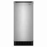 GI15NDXZS Whirlpool Gold 15-inch Ice Maker with Reversible Door - Stainless Steel