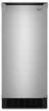 """GI15PDXZS Whirlpool 15"""" Ice Maker with 25 Lbs. Storage Capacity and Electronic Clean Cycle - Stainless Steel"""