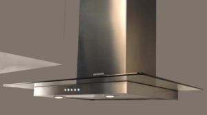 "GLAS36SS600B Faber Decorative Collection 36"" Glassy 600 CFM Wall Hood - Stainless Steel"