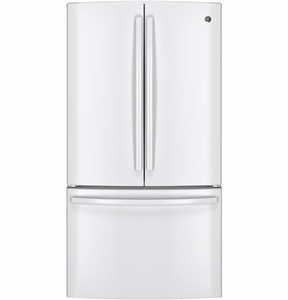 GNE29GGHWW GE Energy Star 28.5 Cu. Ft. French-Door Refrigerator - White