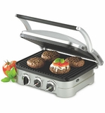 GR-4 Cuisinart Griddler with Non-Stick Removable Plates