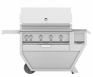 "GSBR42CX2LP Hestan 60"" Liquid Propane Deluxe Grill with Warming Rack and One Push Ignition - Stainless Steel"