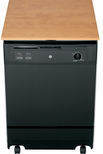 GSC3500DBB GE Convertible Portable Dishwasher - Black