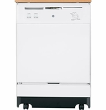 GSC3500DWW GE Convertible/Portable Dishwasher - White