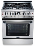 """GSCR304GL Capital 30"""" Precision Gas Convection Pro Style Range 4 Burners & Griddle - Liquid Propane - Stainless Steel"""