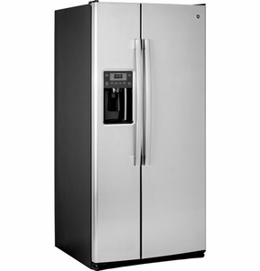 GSS23HSHSS GE 22.5 Cu. Ft. Side-By-Side Refrigerator with Arctica Ice Maker - Stainless Steel