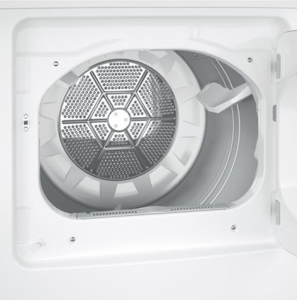 """GTD45EASJWS GE 27"""" Electric Dryer with 7.2 cu. ft. Capacity 4 Drying Cycles - White"""