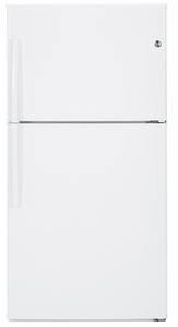 GTE21GTHWW GE ENERGY STAR 21.2 Cu. Ft. Top-Freezer Refrigerator - White