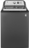 "GTW680BPLDG GE 27"" Top-Load Washer with 4.6 cu. ft. Capacity and Warm Rinse - Slate"