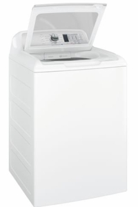 """GTW680BSJWS GE 27"""" Top-Load Washer with 4.6 cu. ft. Capacity - White"""