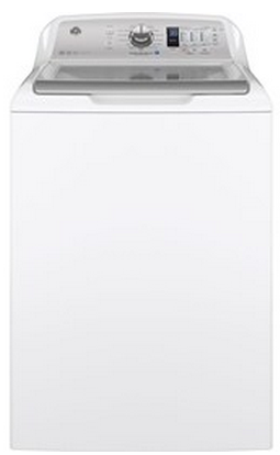 "GTW680BSJWS GE 27"" Top-Load Washer with 4.6 cu. ft. Capacity - White"