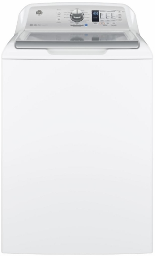 "GTW685BSLWS GE 27"" 4.5 cu. ft. High-Efficiency Top Load Washer with Deep Rinse and Auto Soak - White"