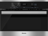 "H6200BM Miele 60 cm (24"") PureLine EasyControl DirectSelect Speed Oven - Stainless Steel"