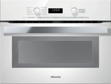 "H6200BMBR Miele 60 cm (24"") PureLine EasyControl DirectSelect Speed Oven - Brilliant White"