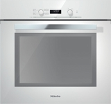 "H6280BPBR Miele 60 cm (24"") PureLine EasyControl DirectSelect Speed Oven - Brilliant White"