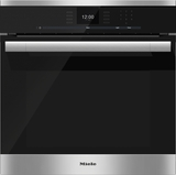 "H6560B Miele 60 cm (24"") ContourLine SensorTronic Convection Oven - Stainless Steel"