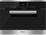 """H6600BM Miele 24"""" PureLine SensorTronic Speed Oven with Rapid Preheat - Stainless Steel"""