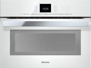 "H6600BMWH Miele 24"" PureLine SensorTronic Speed Oven with Rapid Preheat - Brilliant White"