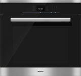 """H6680BP Miele 30"""" PureLine SensorTronic Convection Oven - Stainless Steel"""