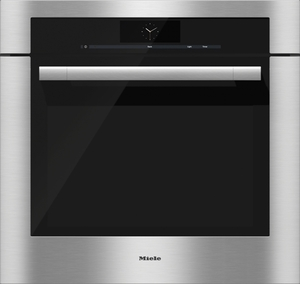 """H67802BP Miele 30"""" ContourLine M Touch Convection Single Oven - Stainless Steel"""