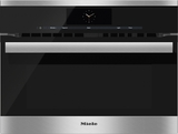 """H6800BM Miele 24"""" PureLine M Touch Speed Oven - Stainless Steel"""