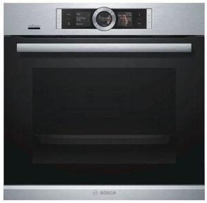 "HBE5452UC Bosch 24"" 500 Series Single Wall Oven With European Convection and EcoClean - Stainless Steel"