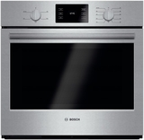 """HBL5351UC Bosch 500 Series 30"""" Single Electric Wall Oven with Thermal Cooking - Stainless Steel"""