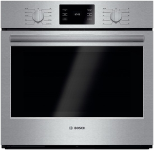 "HBL5451UC Bosch 500 Series 30"" Single Electric Wall Oven with Convection Cooking - Stainless Steel"