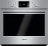 """HBL5451UC Bosch 500 Series 30"""" Single Electric Wall Oven with Convection Cooking - Stainless Steel"""