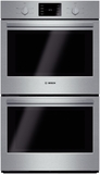 "HBL5551UC Bosch 500 Series 30"" Double Wall Oven with Thermal Cooking - Stainless Steel"