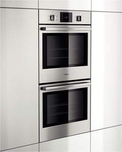 """HBL5551UC Bosch 500 Series 30"""" Double Wall Oven with Thermal Cooking - Stainless Steel"""