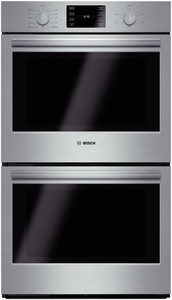 """HBL5651UC Bosch 500 Series 30"""" Double Wall Oven with Convection & Thermal Cooking - Stainless Steel"""