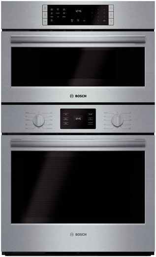 "HBL5751U Bosch 500 Series 30"" Speed Combination Oven with European Convection - Stainless Steel"